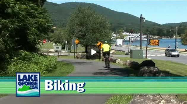 Biking In Lake George