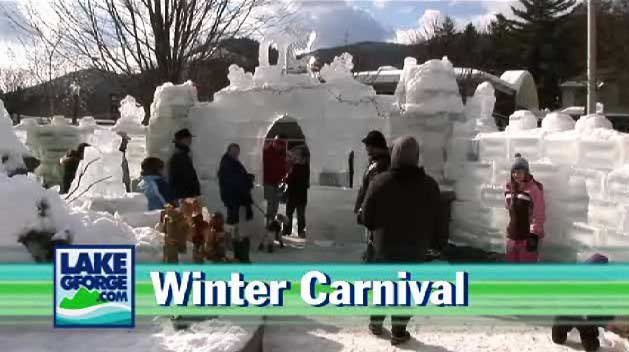 Carnival of Winter in Lake George