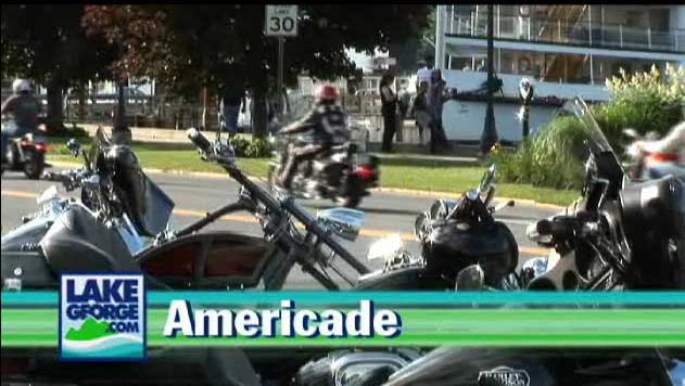 Americade Bike Rally in Lake George