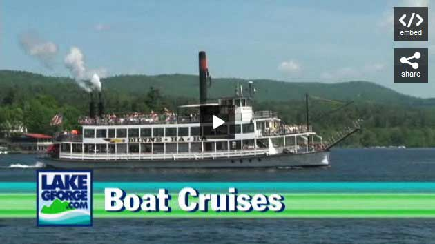 Take A Cruise On Lake George!